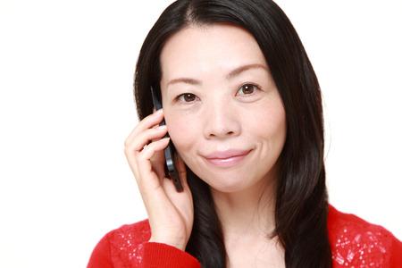 woman on phone: woman talking on smart phone