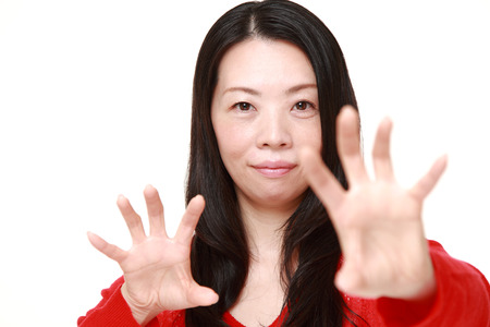 supernatural power: Japanese woman with supernatural power