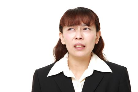 perplexed: perplexed businesswoman