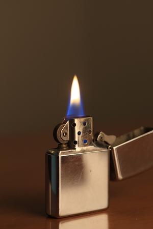 lighter: oil lighter Stock Photo
