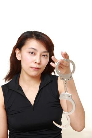 jailbreak: woman with handcuffs