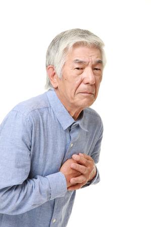 heartattack: senior Japanese man heart attack