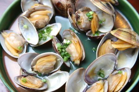 shellfish: Steamed Shellfish