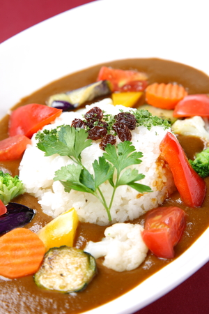vegetable curry: vegetable curry Stock Photo