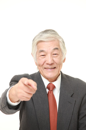 decided: senior Japanese businessman decided