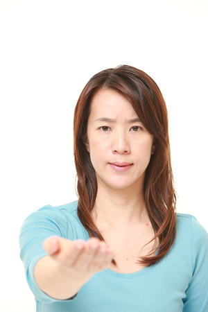 denunciation: angry woman requests something