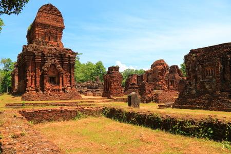 ベトナムのミーソン聖域 写真素材 - 80893317