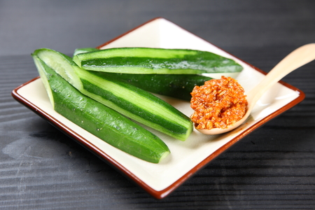 Cucumber with Miso