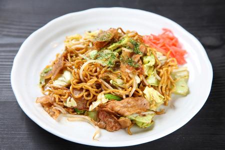 Japanese fried noodles YAKISOBA