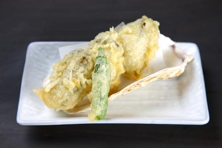 fresh oysters TEMPURA