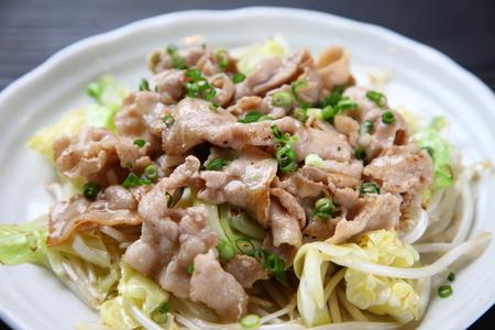 stirfried meat and vegetables Banco de Imagens