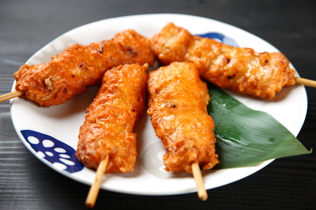 Satsuma-age Japanese deep-fried fish paste