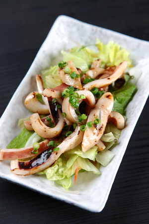 Stir-fried  Squid