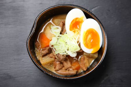 Japanese pork innards stew MOSTU-NIKOMI