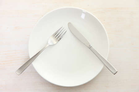 knife and fork meaning DO NOT TAKE Standard-Bild