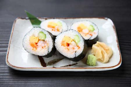 Fresh Seafood Norimaki Sushi Roll