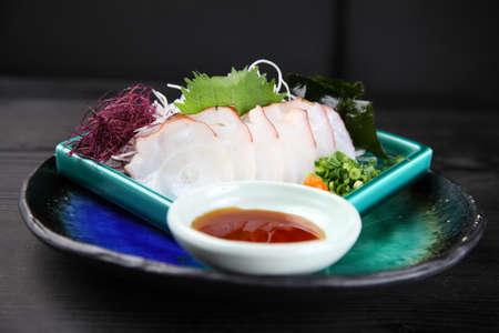fresh octopus sashimi Zdjęcie Seryjne