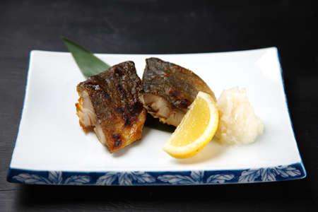 roasted fresh Okhotsk Atka mackerel