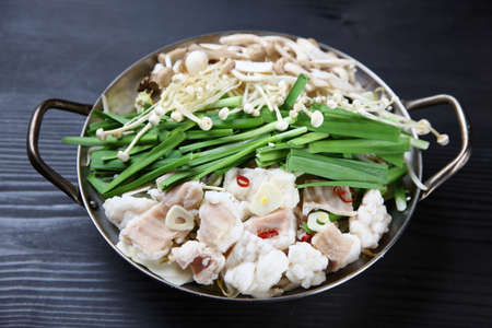 Foodstuffs of innards Hot Pot