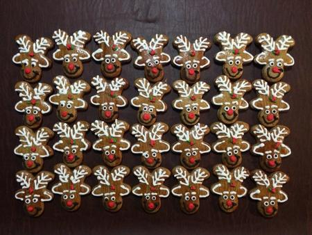 Gingerbread reindeers