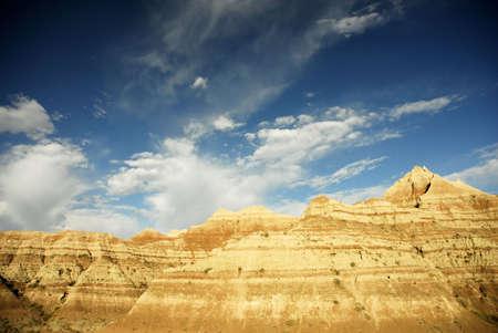 Tierras Baldías Dakota del Sur  Foto de archivo - 506301