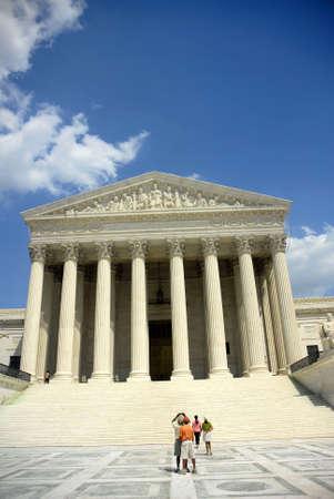 Tribunal Supremo Foto de archivo - 528420