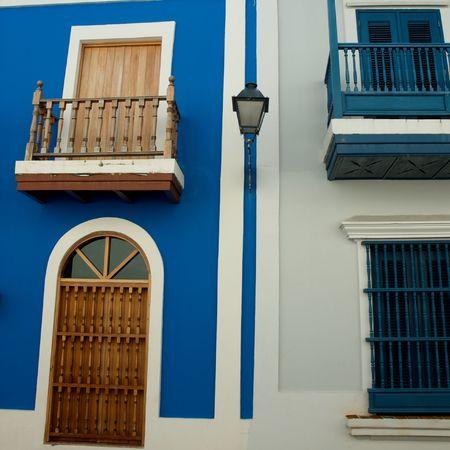 Viejo San Juan el capital original de Puerto Rico  Foto de archivo - 3496745
