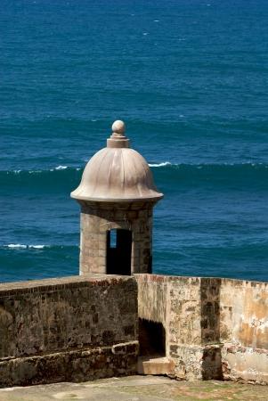 Castillo de San Cristóbal Foto de archivo - 3509434
