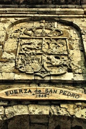 san pedro: At Fort San Pedro Cebu Philippines.