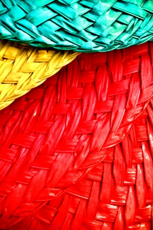 color: Abaniko in the philippines. Different colors hand fan