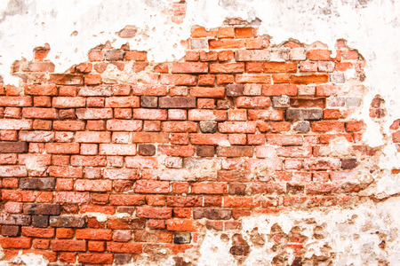 muy antiguo fondo de pared de ladrillo