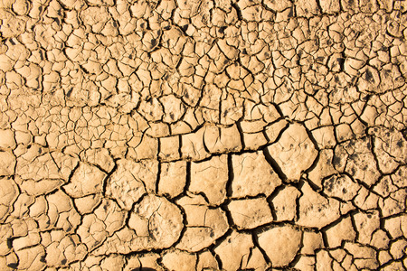 cracked earth: Dry cracked earth background, clay desert texture Stock Photo