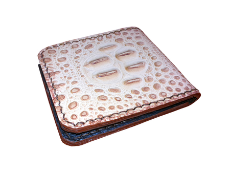 leather skin: Wallet made of leather skin