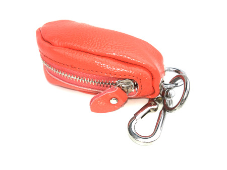 key chain: orange key chain
