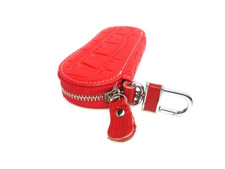 bibelot: red key chain
