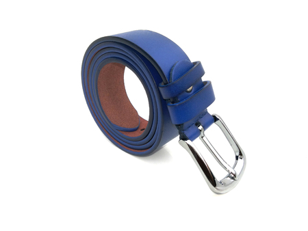 waistband: blue waistband on isolated