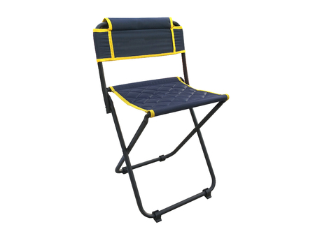 collapsible: chair camping on isolated