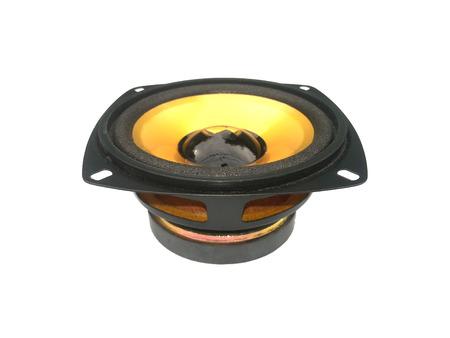 loudspeaker: Loudspeaker on isolated