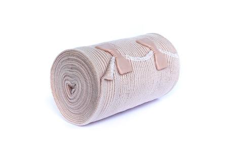 Elastic bandage on isolated