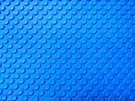 Blue Eva foam texture Stock Photo