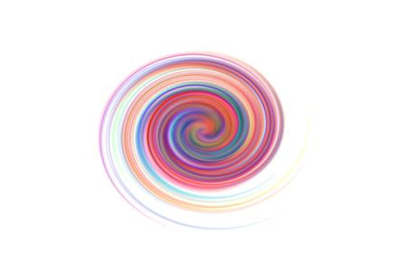spiral rainbow Stock Photo