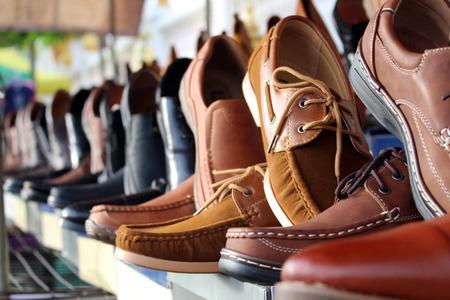 schoenen leren achtergrond