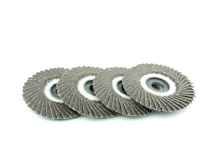 grinding wheel on isolated Stock Photo