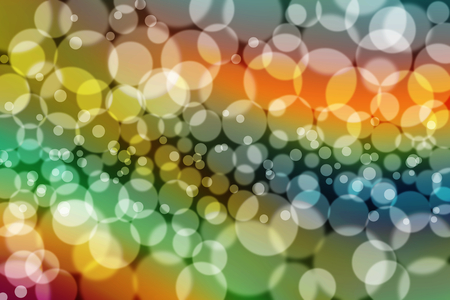 abstract blur bokeh background Stock Photo