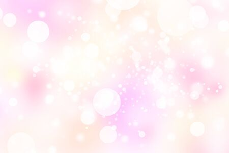 pink abstract blur bokeh background Archivio Fotografico