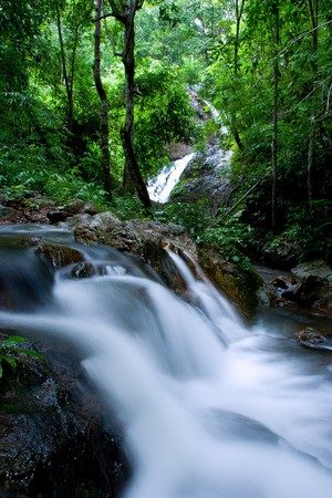 waterfall of thailand photo