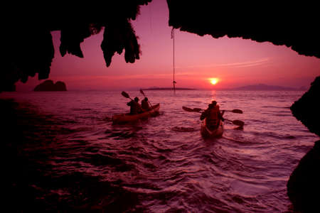 sea scenery: Ao Luk island south of Thailand, Krabi province, Thailand