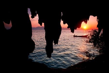 Ao Luk island south of Thailand, Krabi province, Thailand Stock Photo - 9968827