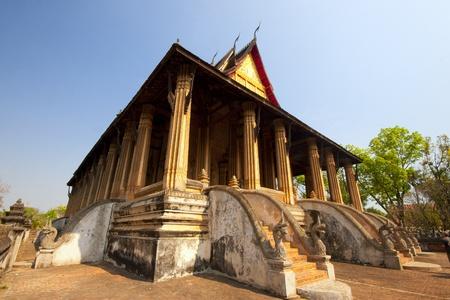 Wat Phra Keo in Vientiane, Laos