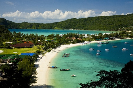 Île de Phi Phi, en Thaïlande